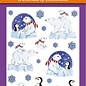 Hearty Crafts 3D Relief Stickers A4 -Snow, Bear & Pinguin