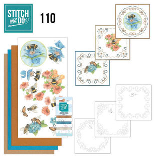 Find It Stitch and Do 110 Bees and Flowers