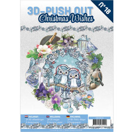 Find It 3D Pushout Book 18 Christmas Wishes
