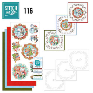 Find It Stitch and Do 116 Sweet Winter Animals