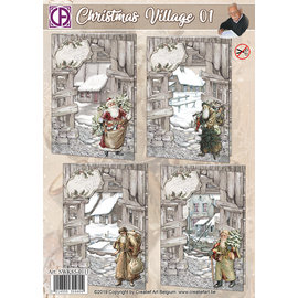 Creatief Art Christmas Village 01