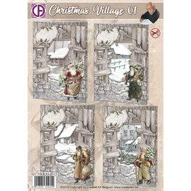 Creatief Art Village de Noël 01