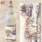"""Creatief Art Flaschen Schrumpffolie 05 """"Vintage Kinder im Schnee"""""""