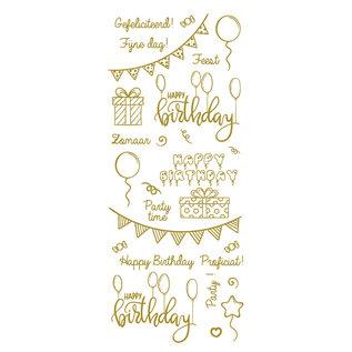 Creatief Art Goldfolie: Party & Geburtstag!
