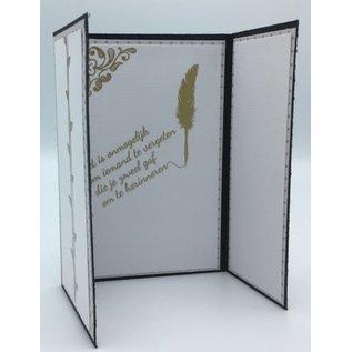 Creatief Art Feuille d'or: Mariage et amour - Copy