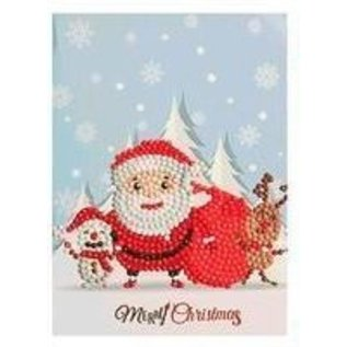 Creatief Art Carte de Noël avec peinture au diamant 02