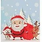 Creatief Art Diamantmalerei Weihnachtskarte 02