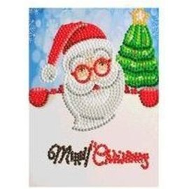 Creatief Art Carte de Noël avec peinture au diamant 03