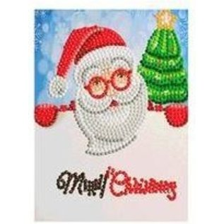 Creatief Art Diamantmalerei Weihnachtskarte 03