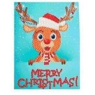 Creatief Art Diamantmalerei Weihnachtskarte 04