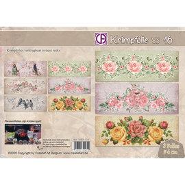 Creatief Art Schrumpffolie 16 - Blumen