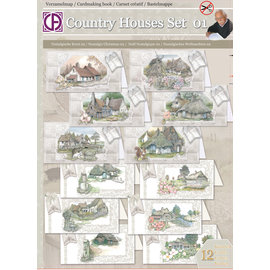 Creatief Art Verzamelmap - Country Houses Set 01