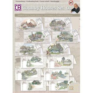Creatief Art Country Houses Set 01