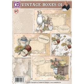 Creatief Art Boîtes Vintage 01