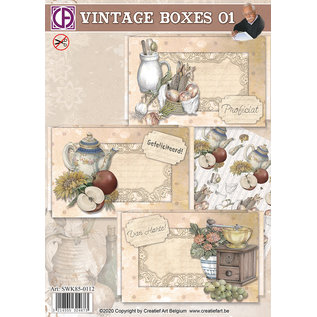 Creatief Art Vintage Boxes 01