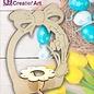 Creatief Art Paasei Houder
