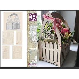 Creatief Art Boîte à fleurs en bois