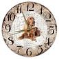 Creatief Art Houten Klok - 30cm - Hond - Engelse Cockerspaniël