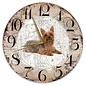 Creatief Art Houten Klok - 30cm - Hond - Australische Silky Terriër