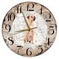 Creatief Art Houten Klok - 30cm - Hond - Oostenrijkse Kortharige Pincher