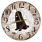 Creatief Art Houten Klok - 30cm - Hond - Newfoundlander