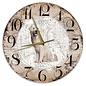 Creatief Art Houten Klok - 30cm - Hond - Tatrahond