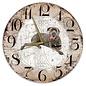 Creatief Art Houten Klok - 30cm - Hond - Cane Corso