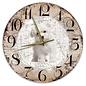 Creatief Art Houten Klok - 30cm - Hond - Malteser