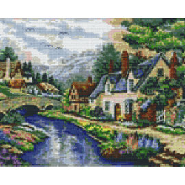 Pixel Hobby Assiettes Pixel hobby 9 Brook-by-valley