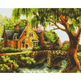 Pixel Hobby Pixel Hobby 9 Grundplatten Haus mit Brücke