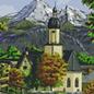 Pixel Hobby Pixelhobby 9 Basisplaten Kerk in de bergen