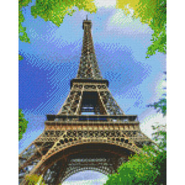 Pixel Hobby Pixel hobby 9 Plaques de base Eifel Tower