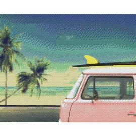Pixel Hobby Pixelhobby 9 Basisplaten Beach-car
