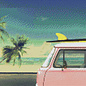 Pixel Hobby Pixel Hobby 9 Grundplatten Strandauto