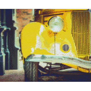 Pixel Hobby Pixel Hobby 9 Grundplatten Gelbes Auto