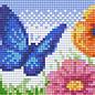 Pixel Hobby Pixelhobby 1 Basisplaat Vlinder