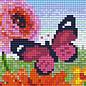 Pixel Hobby Pixelhobby 1 Basisplaat Butterfly