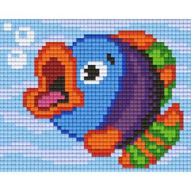Pixel Hobby Pixel Hobby 1 Grundplatte Happy Fish