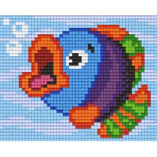 Pixel Hobby Pixelhobby 1 Basisplaat Vrolijke vis