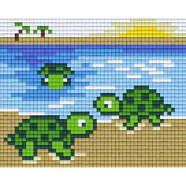 Pixel Hobby Pixel Hobby 1 Grundplatte Schildkröte