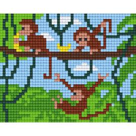Pixel Hobby Pixelhobby 1 Basisplaat Aapjes