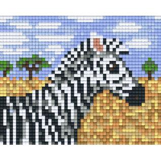 Pixel Hobby Pixelhobby 1 Basisplaat Zebra