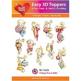 Hearty Crafts 3D Topper - Vintage Weihnachten