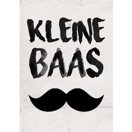 Creatief Art Spreukenbordje: Kleine Baas | Houten Tekstbord