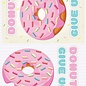Creatief Art 3D Bordje - Donut give up