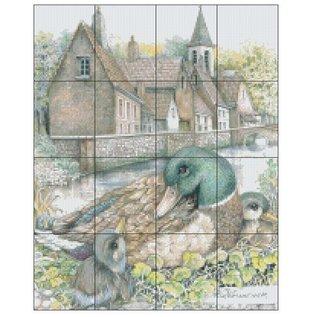 Pixel Hobby Pixel Hobby 16 Grundplatten - Enten in Häusern