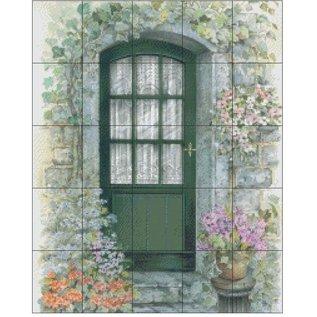 Pixel Hobby Pixel Hobby 25 Grundplatten - Tür mit Blumen
