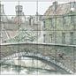Pixel Hobby Pixel hobby 30 plaques de base Pont avec vue sur la ville