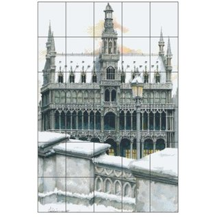 Pixel Hobby Pixel hobby 30 plaques de base Winter Church