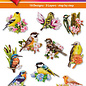 Hearty Crafts Easy 3D topper Birds